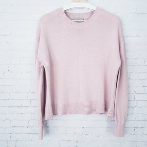 Everlane Pale Pink Sweater Pullover Boxy Fit L